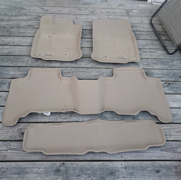 4runner Laser Cut All Weather Floor Mats